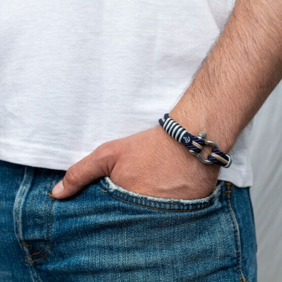 Морской браслет для мужчин и женщин — № 5074 фото 4