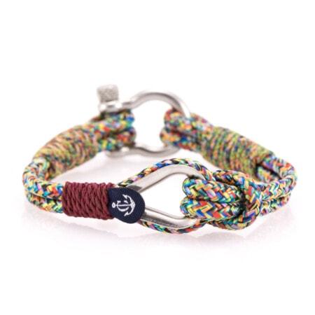 Brățară nautică din sfoară multicoloră pentru bărbați și femei - CNB #706