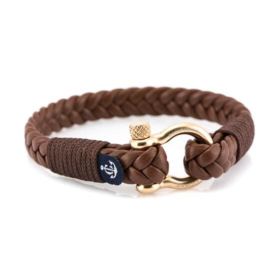 Кожаный браслет — Jack Tar #10022