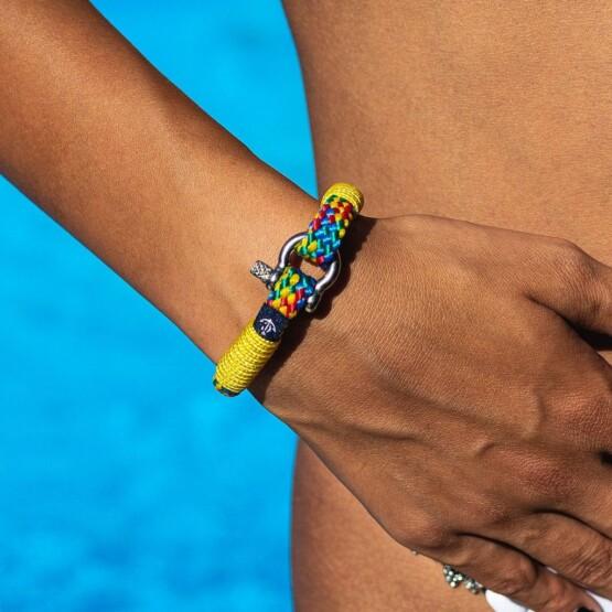 Тонкий цветной браслет для женщин — № 883