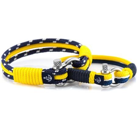 Brățări nautice în culori combinate pentru cupluri – CND #981